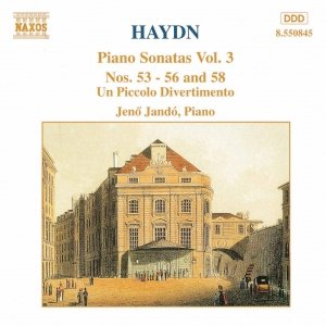 Imagem de 'HAYDN: Piano Sonatas Nos. 53-56 and 58 / Un Piccolo Divertimento'