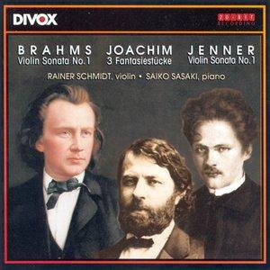Image for 'Brahms: Violin Sonata No. 1 / Joachim: 3 Stucke / Jenner: Violin Sonata No. 1'