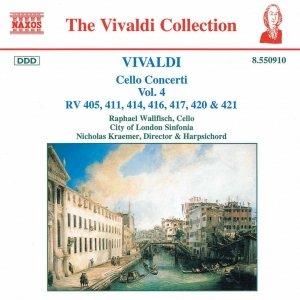 Image for 'VIVALDI: Cello Concertos, Vol.  4'