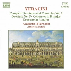 Image for 'VERACINI: Overtures and Concertos, Vol.  2'