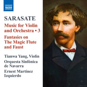 Image for 'Sarasate: Music for Violin and Orchestra, Vol. 3'