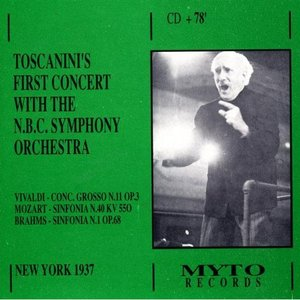 Imagen de 'Toscanini's First Concert With The N.B.C. Symphony Orchestra'
