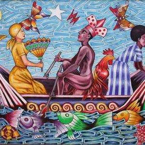 Image pour 'Abbilona y Tambor Yoruba'