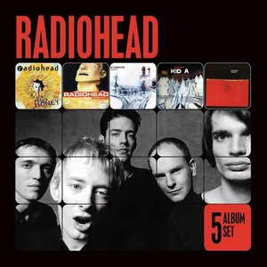 Imagem de '5 Album Set [Pablo Honey/The Bends/OK Computer/Kid A/Amnesiac]'