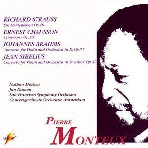Bild für 'R. Strauss, Chausson, Brahms, Sibelius: Pierre Monteux Conducts'