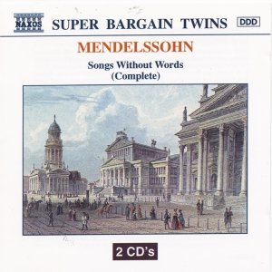 Image for 'MENDELSSOHN : Songs Without Words (Complete)'