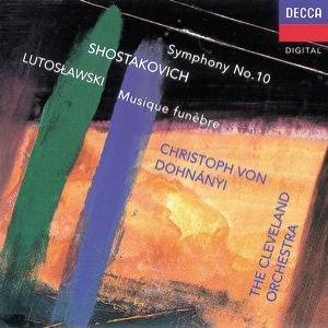 Image for 'Shostakovich:Symphony No.10/Lutoslawski: Musique funèbre'