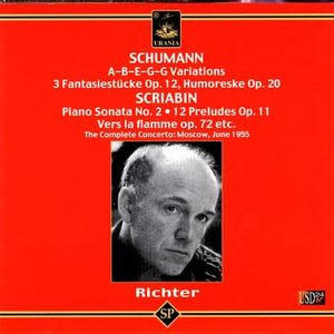 Imagen de 'Sviatoslav Richter Plays Schumann and Scriabin'