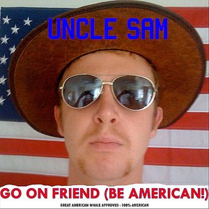 Image for 'Go On Friend! (Be American!) - Single'