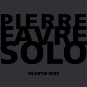 Image for 'Pierre Favre Solo'