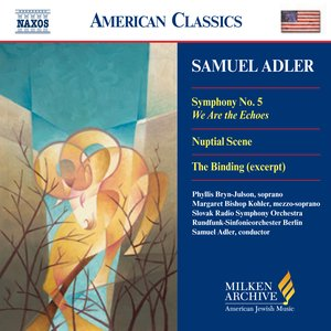 Image for 'Adler: Symphony No. 5 / Nuptial Scene / The Binding'