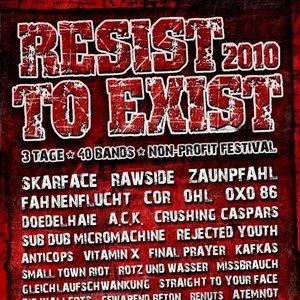 Immagine per 'Live Resist to Exist 2010'