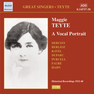 Image for 'Teyte, Maggie: A Vocal Portrait (1932-1948)'