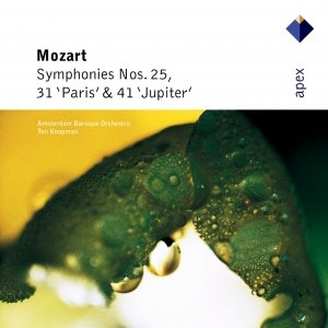 Image for 'Mozart : Symphonies Nos 25, 31, 'Paris' & 41, 'Jupiter''