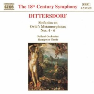 Image for 'DITTERSDORF: Sinfonias on Ovid's Metamorphoses, Nos. 4 - 6'