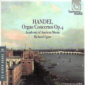 Image for 'Handel: Organ Concertos, Op. 4'