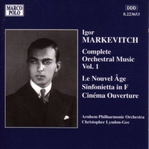 Image for 'Orchestral Music, Vol. 1 - Le Nouvel Age / Sinfonietta / Cinema Overture (Arnhem Philharmonic Orchestra feat. conductor Christopher Lyndon-Gee)'