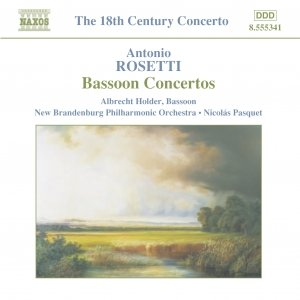Image pour 'ROSETTI: Bassoon Concertos'