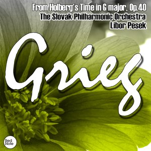 Image for 'Grieg: From Holberg's Time in G major, Op.40'