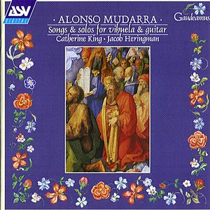 Image pour 'Alonso Mudarra songs and solos'