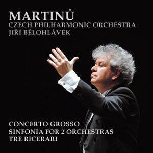 Imagen de 'Symphony no.1, Symphony for 2 orchestras, Concerto grosso (Czech Philharmonic Orchestra, Jiří Bělohlávek)'