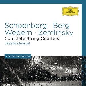 Bild für 'Schoenberg / Webern / Berg / Zemlinsky / Apostel: Complete String Quartets'
