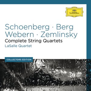 Image pour 'Schoenberg / Webern / Berg / Zemlinsky / Apostel: Complete String Quartets'