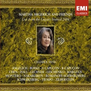 Image for 'Martha Argerich and Friends: Live from the Lugano Festival 2006'