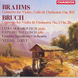 Image for 'Brahms: Double Concerto / Bruch: Violin Concerto No. 1'