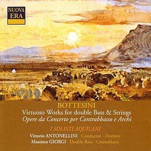 Image for 'Bottesini: Virtuoso Works for Double Bass & Strings'