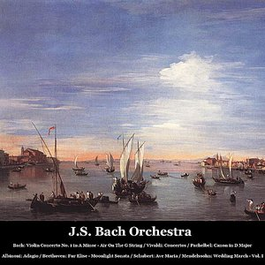 Bild för 'Bach: Violin Concerto No. 1 in A Minor - Air On The G String /  Vivaldi: Concertos / Pachelbel: Canon in D Major / Albinoni: Adagio / Beethoven: Fur Elise - Moonlight Sonata / Schubert: Ave Maria / Mendelssohn: Wedding March - Vol. I'