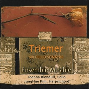 Immagine per 'Triemer: Six Cello Sonatas'