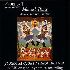 Bild för 'PONCE: Sonatina Meridional / Tema variado y final / Suite en la / Tropico / Cancion popular Gallega'