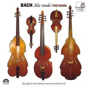 "Bild för 'J.S. Bach: Alio modo - ""Passacaglia"" & other keyboard works transcribed for viols'"