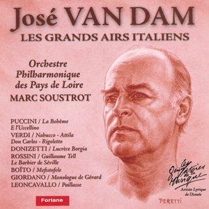 Image for 'José Van Dam : Les grands airs italiens'