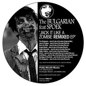 "Bild für '[PMM037] The Bulgarian ft Spoek ""Jack It Like A Zombie Remixed Ep"" Potty Mouth Music'"