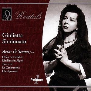 Image for 'Giulietta Simionato: Volume 1'