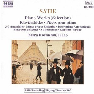 Bild för 'SATIE: Piano Works (Selection)'