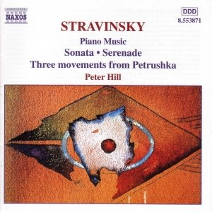 Immagine per 'STRAVINSKY: Sonata / Serenade / 3 Movements from Petrushka'