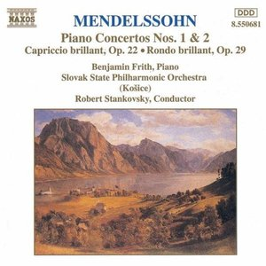 Image for 'MENDELSSOHN: Piano Concertos Nos. 1 and 2 / Capriccio Brillant / Rondo Brillant'
