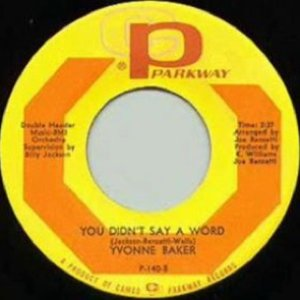 Image for 'You Didn't Say a Word / To Prove My Love Is True'