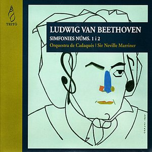 Image for 'Beethoven: Symphony No. 1 in C Major, Symphony No. 2 in D Major'