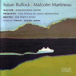 Image pour 'Strauss, Wagner, Britten, Prokofiev, Quilter, Rorem: Susan Bullock & Malcolm Martineau'