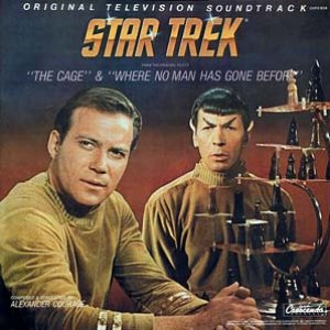 Immagine per 'Star Trek: The Cage / Where No Man Has Gone Before'