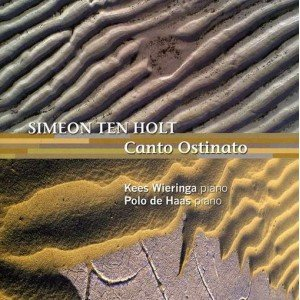 """Canto Ostinato (piano: Kees Wieringa & Polo de Haas)""的封面"