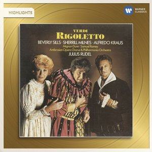Image for 'Verdi: Rigoletto (Highlights)'