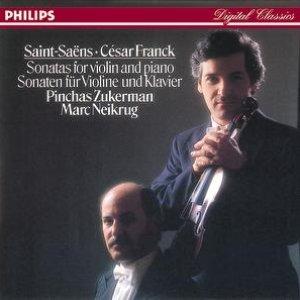 Image pour 'Franck: Violin Sonata//Saint-Saëns: Violin Sonata No.1'