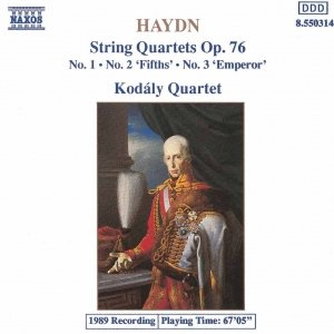 Image for 'HAYDN: String Quartets Op. 76, Nos. 1- 3'