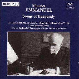 Image for 'EMMANUEL: Songs of Burgundy'