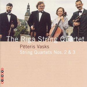 Image for 'Vasks: String Quartets Nos. 2 and 3'